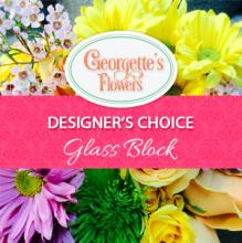 Designer\'s Choice - Glass square Arrangement