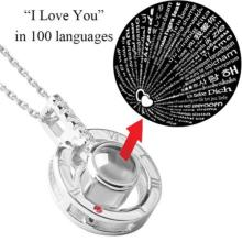 I love you necklace 100 Languages