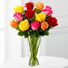 The Bright Spark™ Rose Bouquet