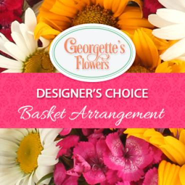 Designer\'s Choice - Basket Arrangement